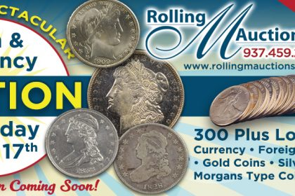 Coin & Currency Auction - Staurday June 17th 2017