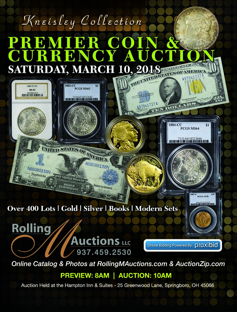 Coin & Currency Auction