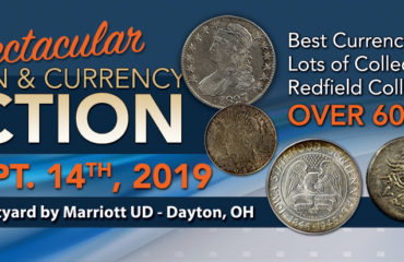 Fall 2019 Coin & Currency Auction